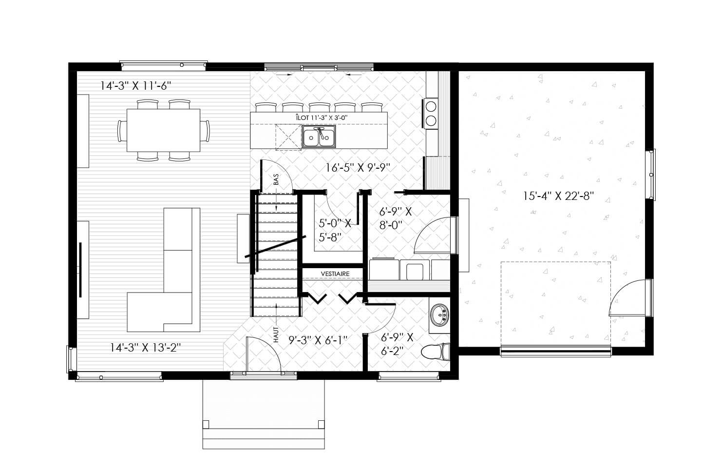 Plan modèle Aurore