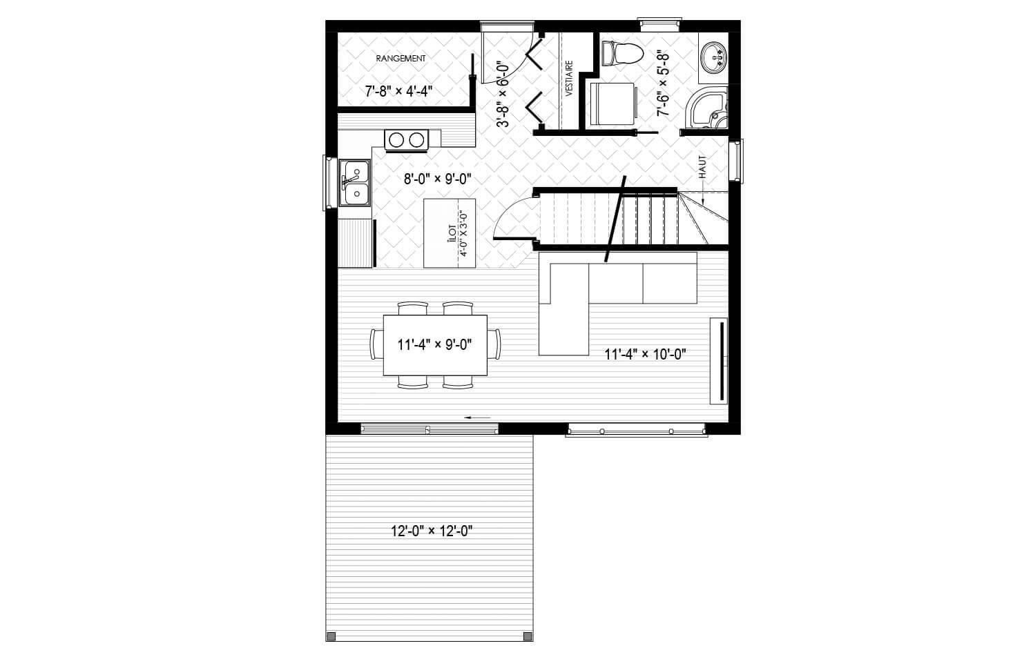 Plan modèle Appalaches
