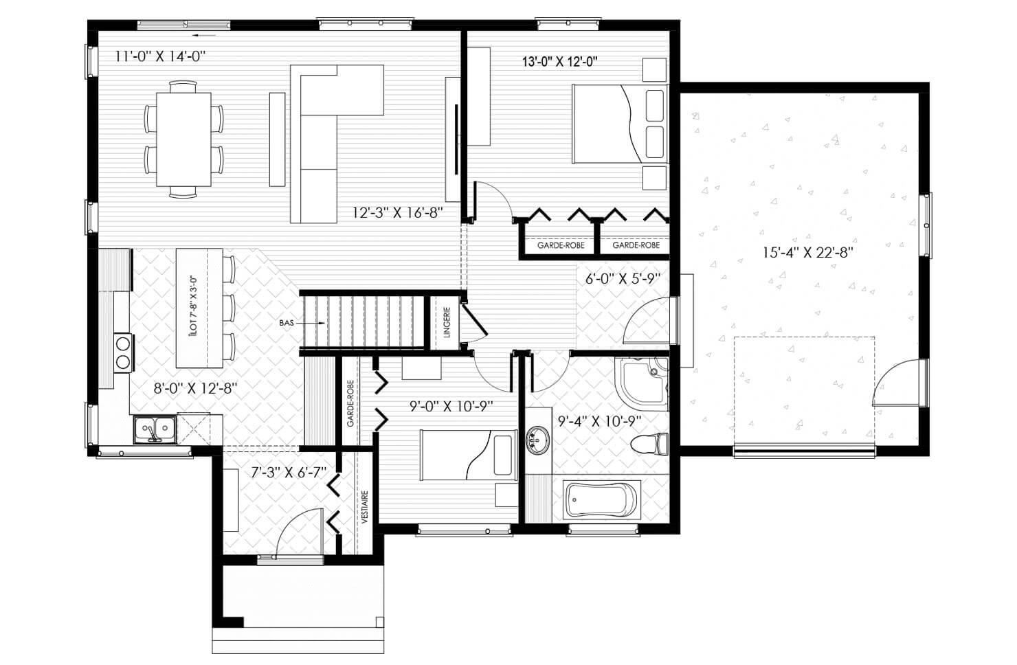 Plan modèle Gentilly