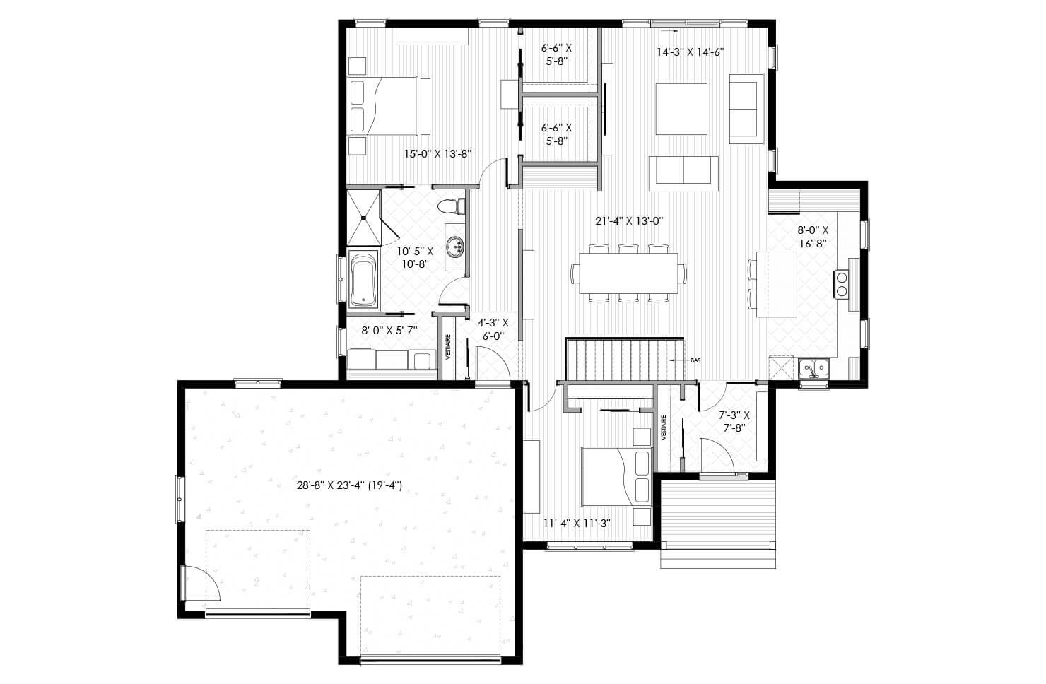Plan modèle Jolicoeur