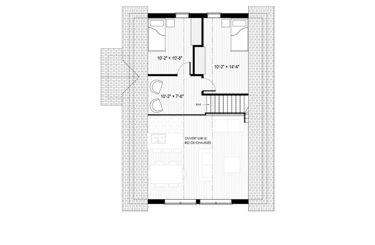 Plan modèle Montana