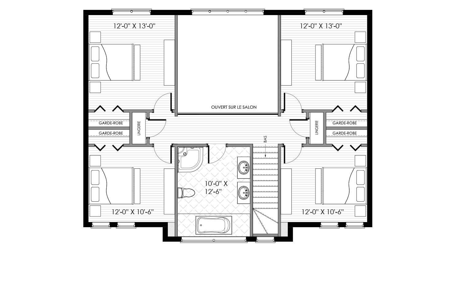 Plan modèle Pinacle