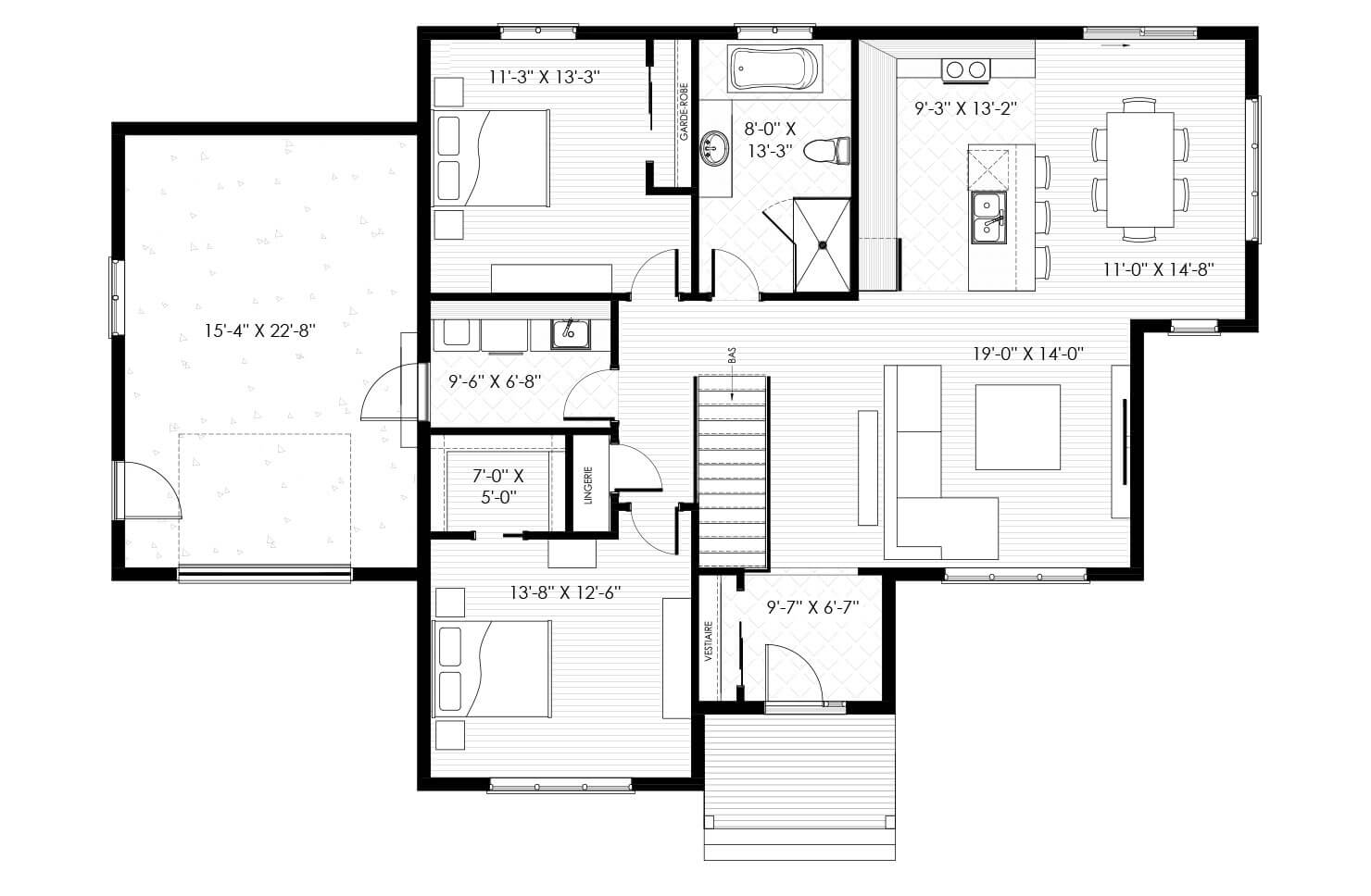 Plan modèle Rougemont