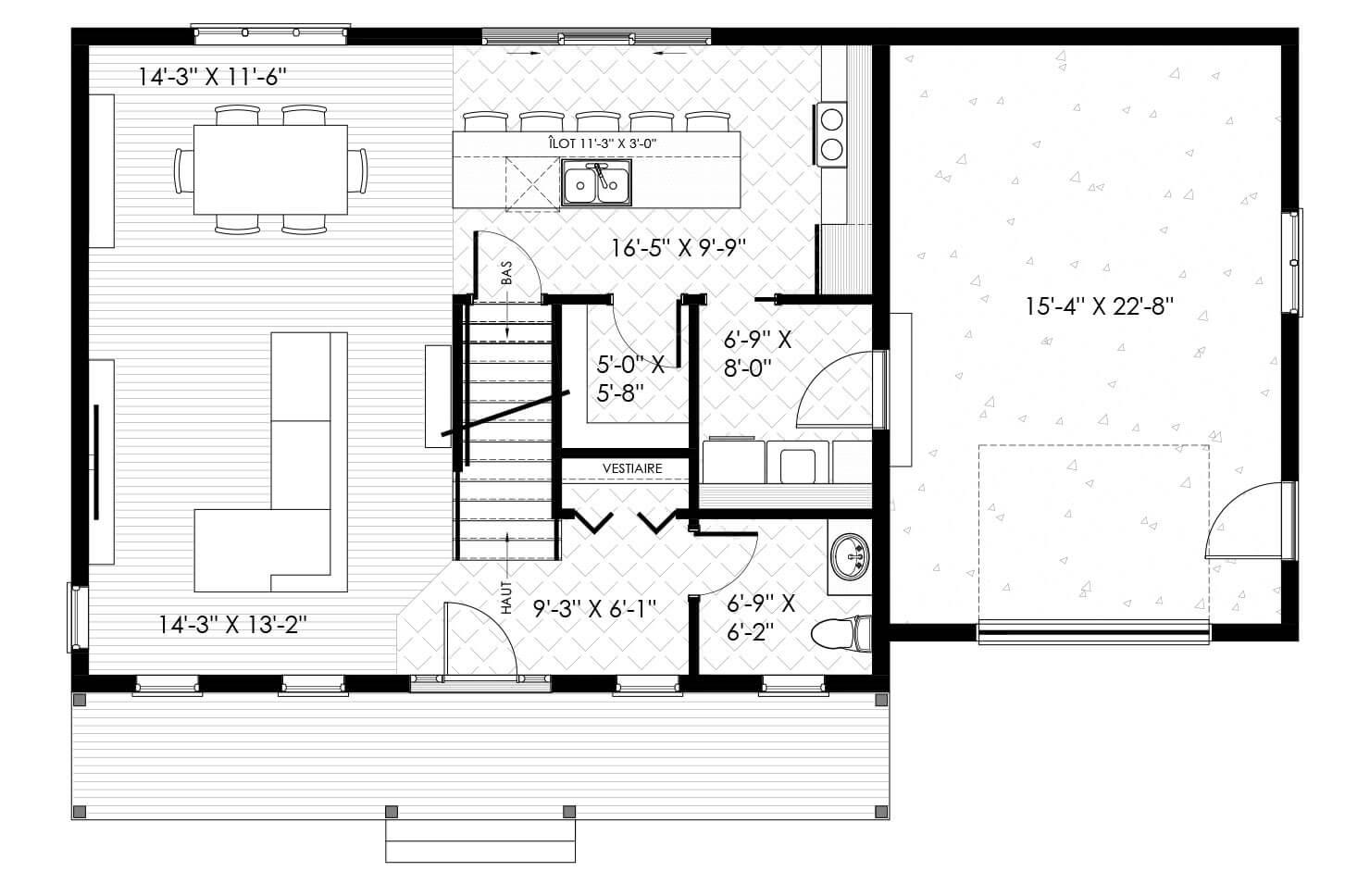 Plan modèle St-Charles