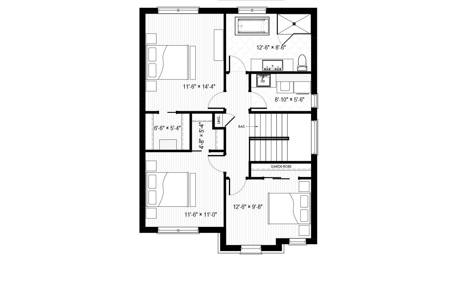 Plan modèle St-Bruno